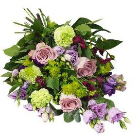 skicka blommor till begravning
