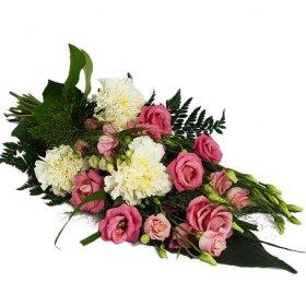 blommor begravning pris