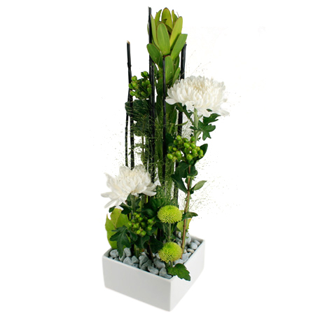 Strictly business - Blomsterdekorationer - Skicka blommor med blombud - Flowerhouse