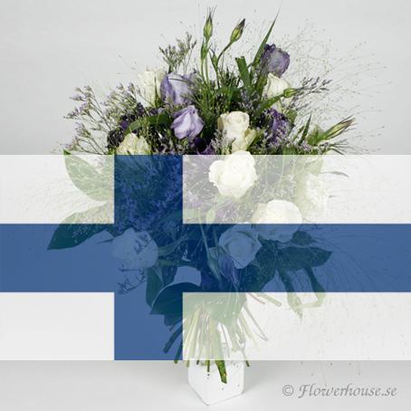skicka blommor från sverige till finland